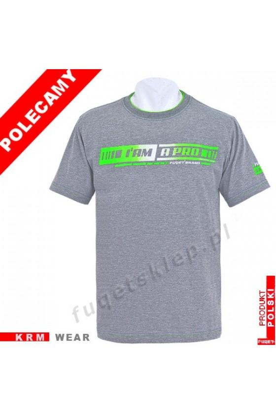 Koszulka I AM A PRO M melanż