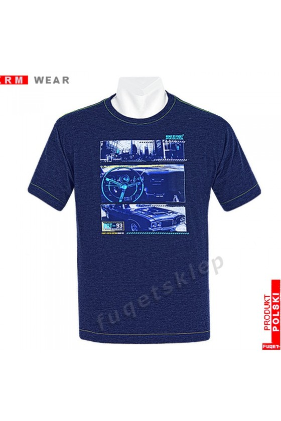 Koszulka FUQET ROAD M indygo