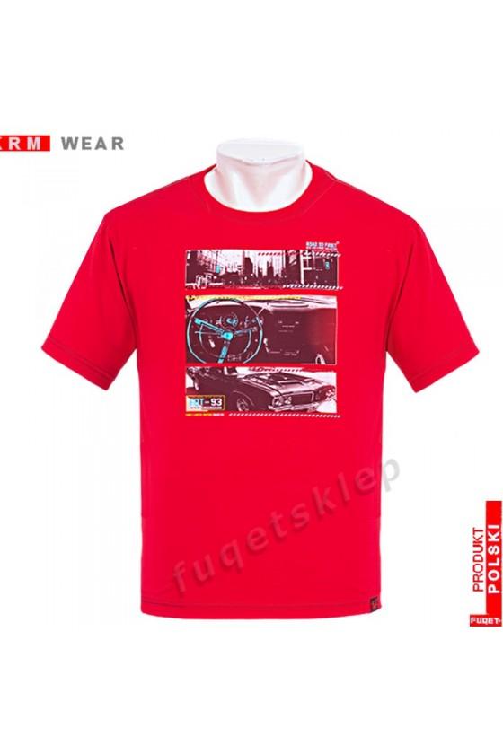 Koszulka FUQET ROAD M czerwona