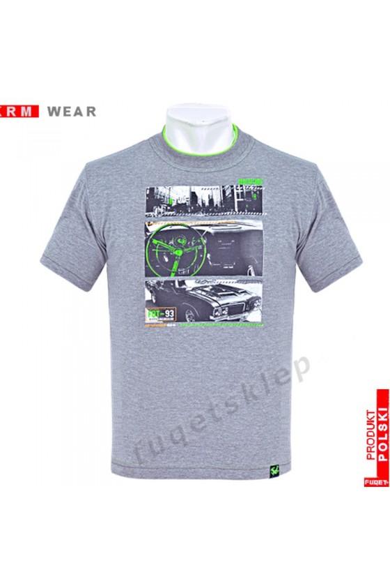 Koszulka FUQET ROAD M melanż