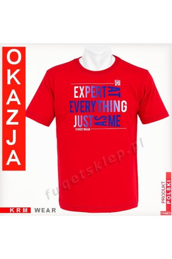 Koszulka EXPERT M czerwona