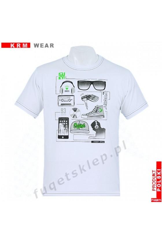 Koszulka AKCESORIA M biała