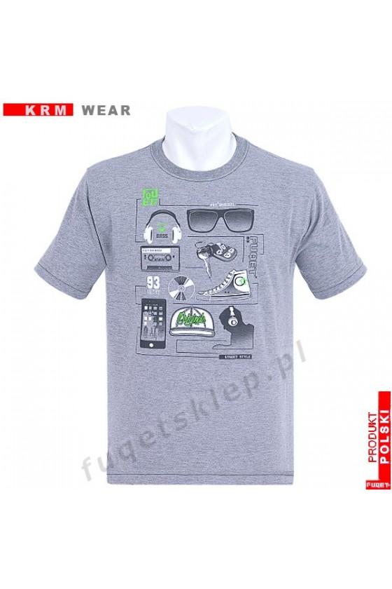Koszulka AKCESORIA M melanż