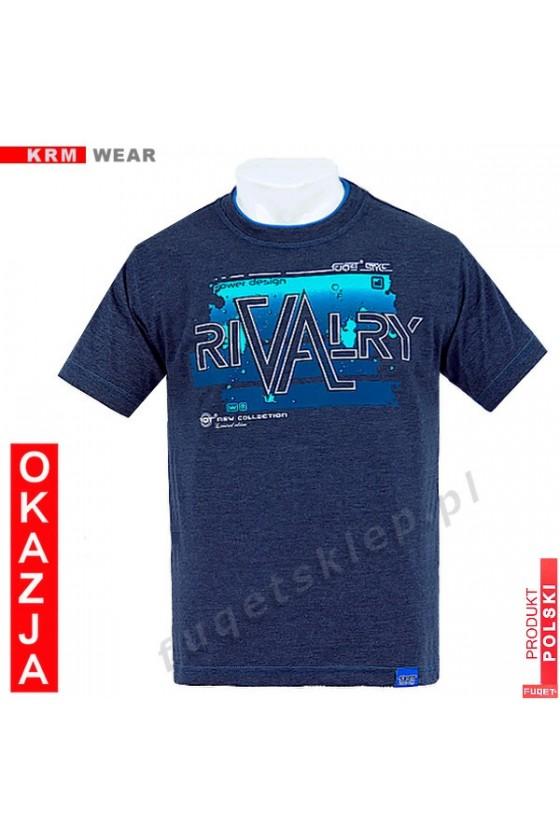 Koszulka FUQET RIVALRY M indygo