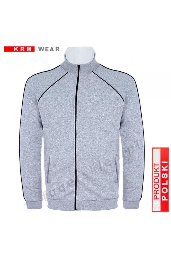 Bluza sportowa expr. BIG  SX MD G melanż 100% bawełna