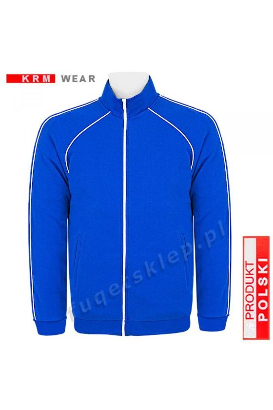 Bluza sportowa expr. BIG  SX MD G niebieska 100% bawełna