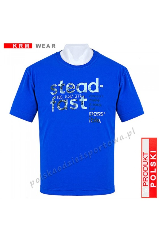 Koszulka Sportowa TS STEADFAST niebieska