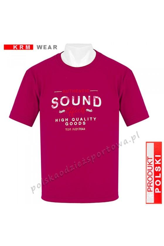 Koszulka Sportowa TS SOUND bordo