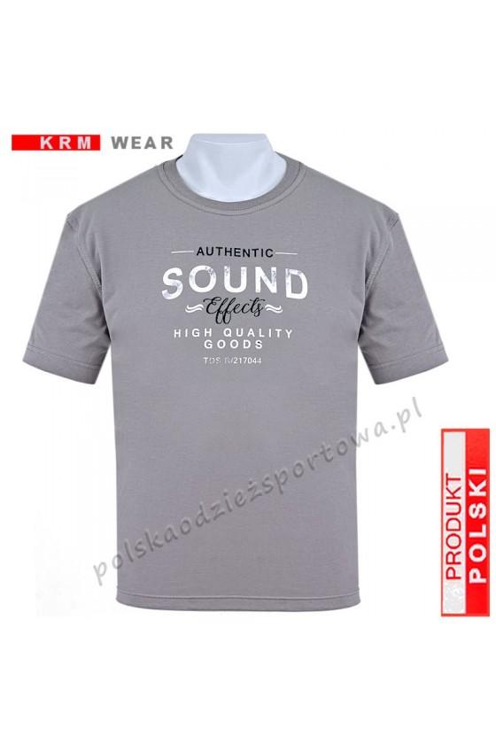 Koszulka Sportowa TS SOUND grey