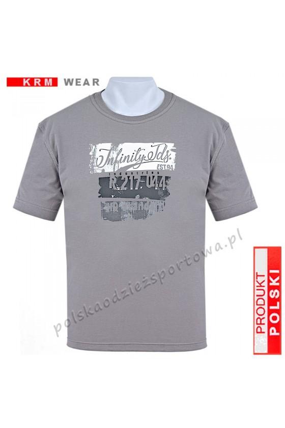 Koszulka Sportowa TS INFINITY grey