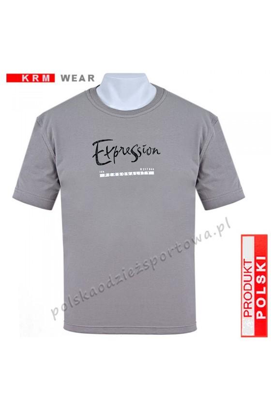 Koszulka sportowa EXPRESSION grey