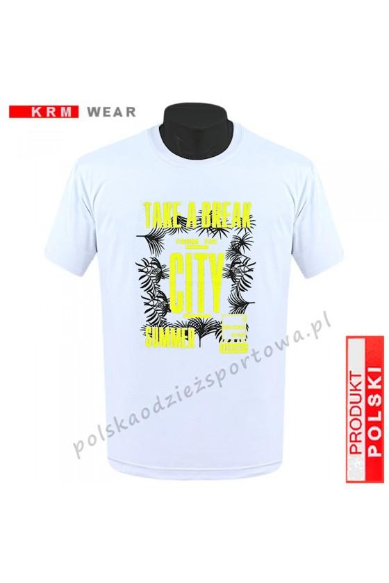 Koszulka  sportowa TS - DS ''TAKE'' biała