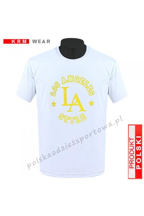 Koszulka  sportowa TS - M ''LA'' biała