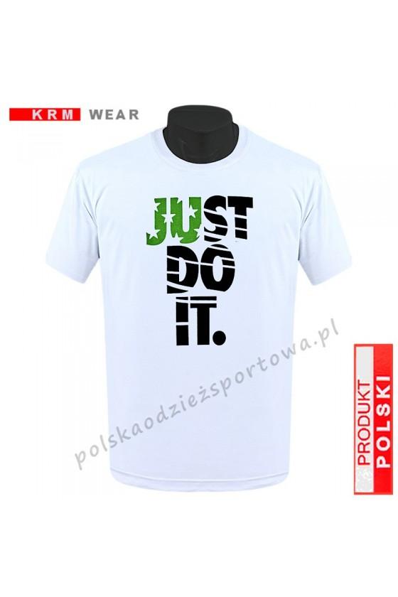 Koszulka  sportowa TS - M ''JUST'' biała