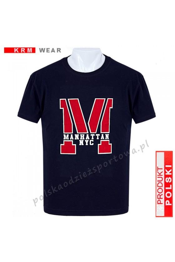 Koszulka  sportowa TS - M ''M'' granat