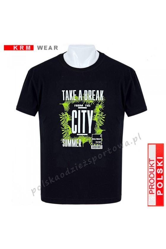 Koszulka  sportowa TS ''TAKE'' M czarna