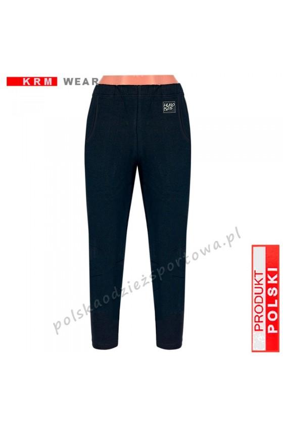 Spodnie TS proste DSP  czarne