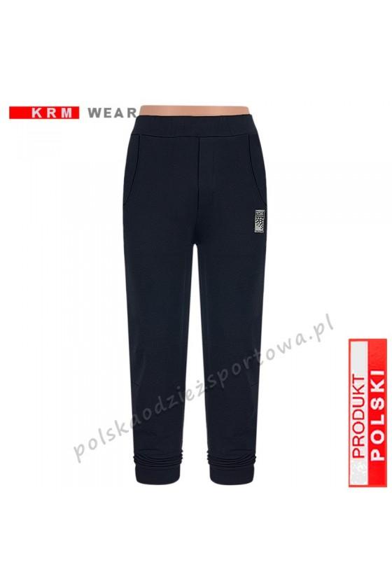 Spodnie bawełna TS 172  PMD czarne