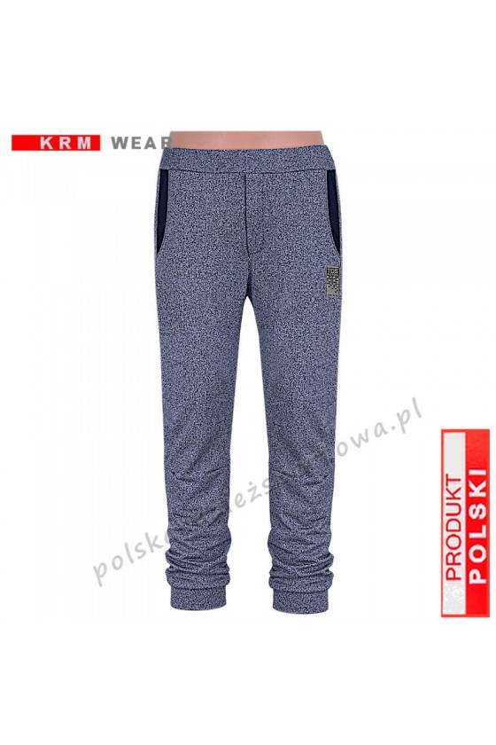 Spodnie bawełna TS 173 F  PMD fantazja/gr