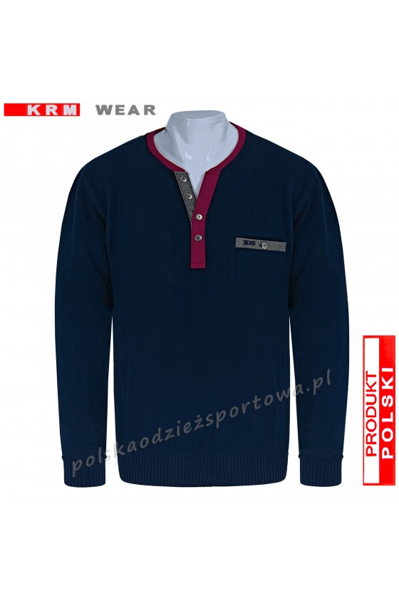 Bluza swetrowa SG granat
